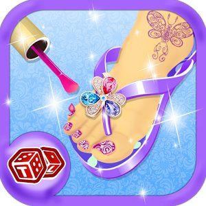 Toe Nail Art – Girls Game