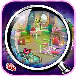Hidden Objects Makeup Salon